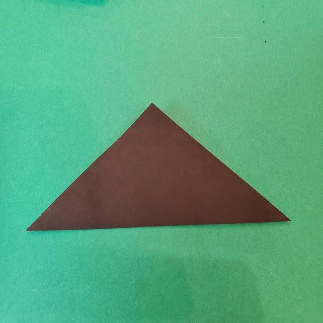 【鬼滅の刃の折り紙】折り方・作り方『たんじろう(炭治郎)』(画像つき折り図)服(着物)