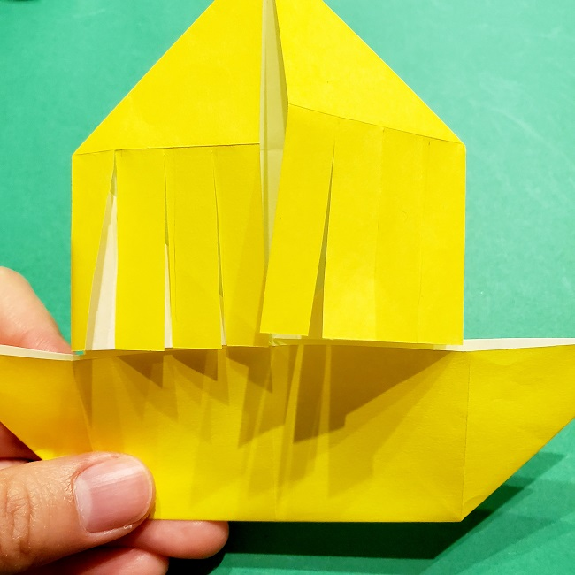 鬼滅の刃(きめつのやいば)の折り紙『善逸(ぜんいつ)』の折り方