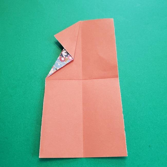 1月の折り紙【羽子板】の折り方・作り方 (10)
