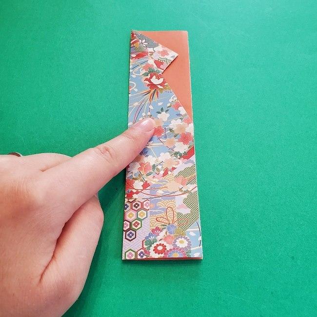 1月の折り紙【羽子板】の折り方・作り方 (11)