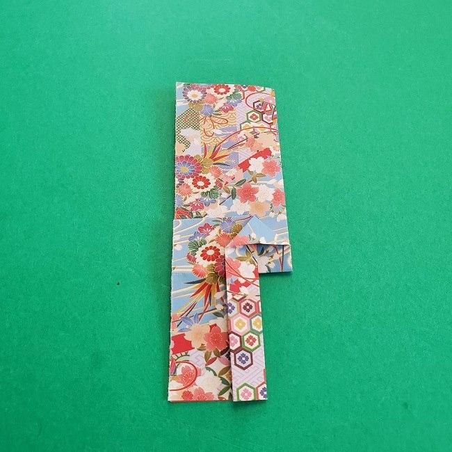 1月の折り紙【羽子板】の折り方・作り方 (17)