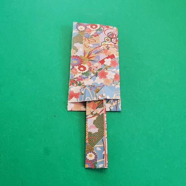 1月の折り紙【羽子板】の折り方・作り方 (18)