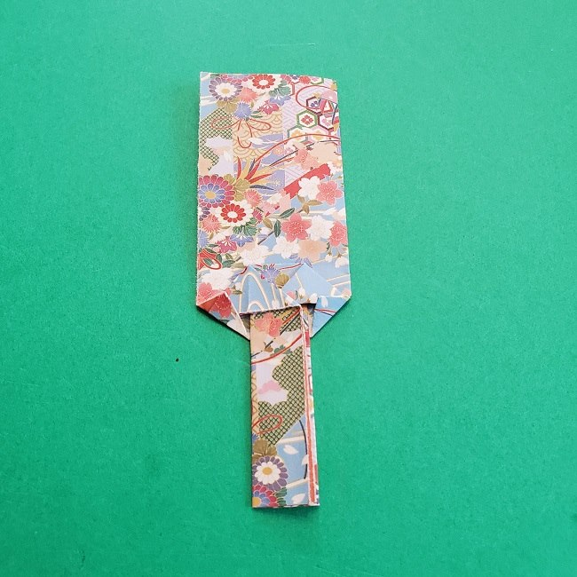 1月の折り紙【羽子板】の折り方・作り方 (19)