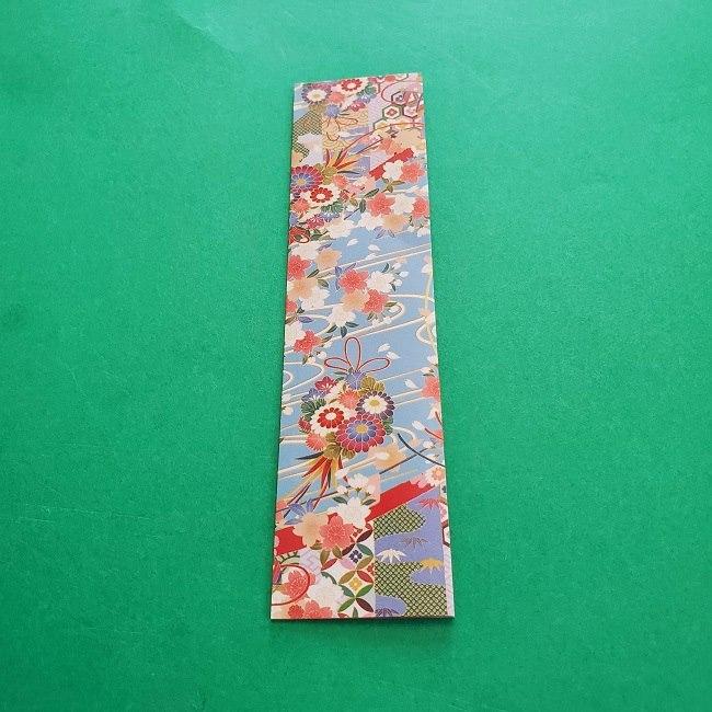 1月の折り紙【羽子板】の折り方・作り方 (3)
