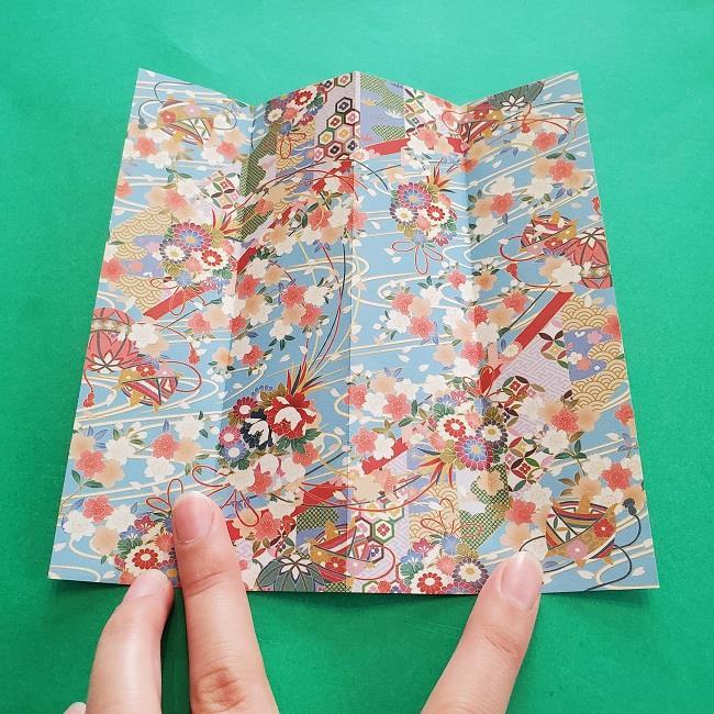 1月の折り紙【羽子板】の折り方・作り方 (4)