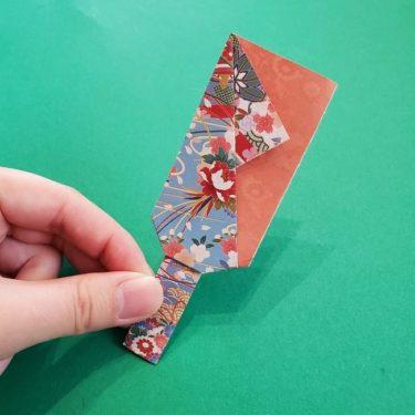 1月*お正月らしい折り紙『羽子板の作り方』年少さんの幼児でもつくれる簡単な折り方を紹介!