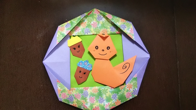 りすの折り紙|かわいい・折り方も簡単で3歳児も大喜び♪