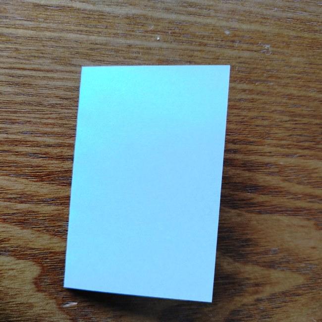 いわしの折り方 (2)
