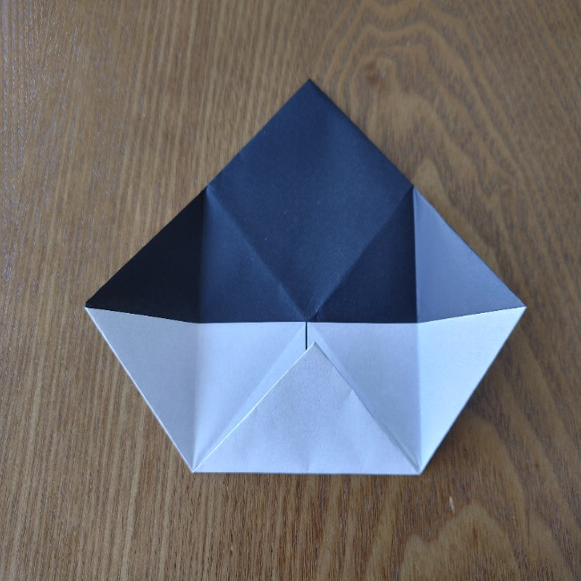 おたふくの折り紙 簡単な折り方 (11)
