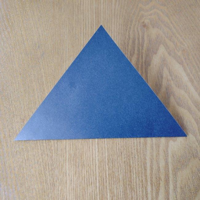 おたふくの折り紙 簡単な折り方 (2)