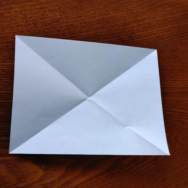 おたふくの折り紙 簡単な折り方 (4)
