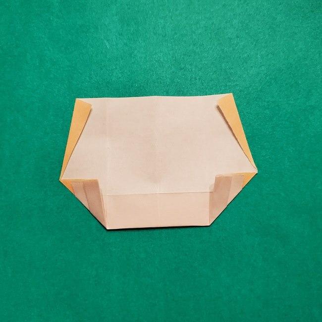 きめつのやいばの折り紙【いぐろおばない(伊黒小芭内)】作り方 (11)