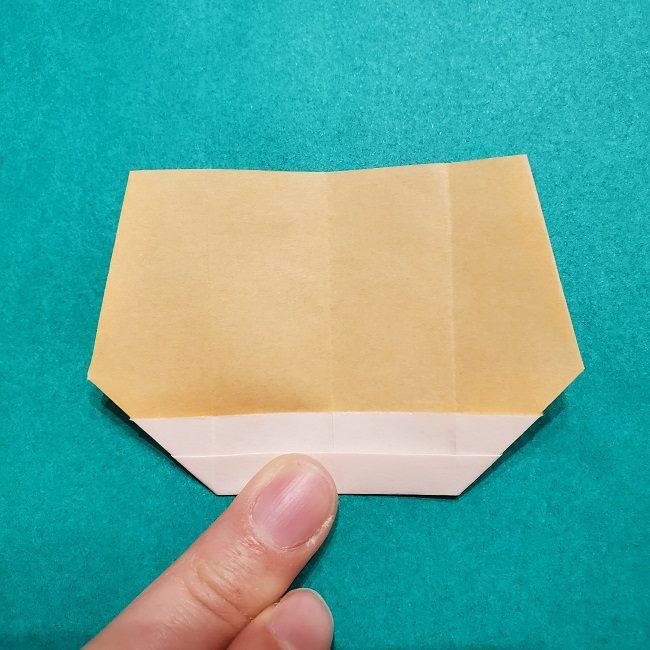 きめつのやいばの折り紙【いぐろおばない(伊黒小芭内)】作り方 (12)