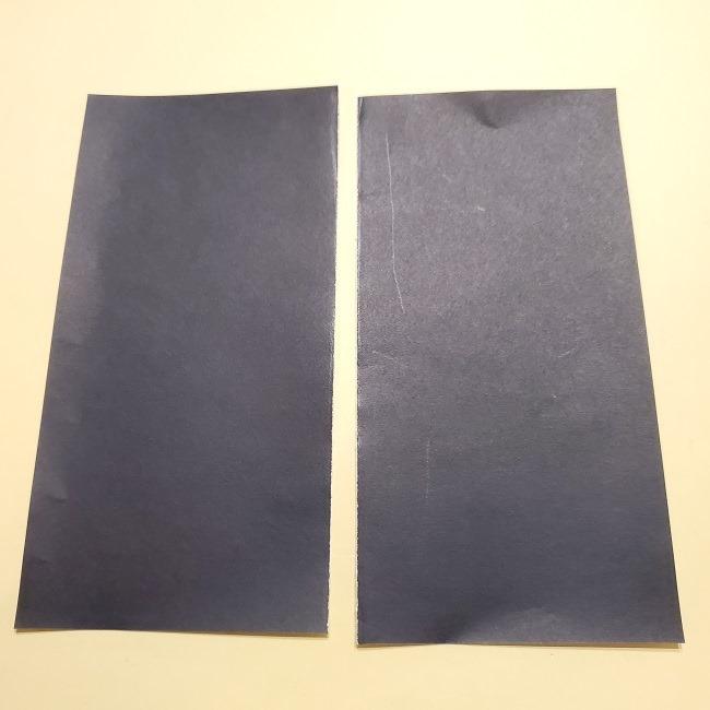 きめつのやいばの折り紙【いぐろおばない(伊黒小芭内)】作り方 (14)