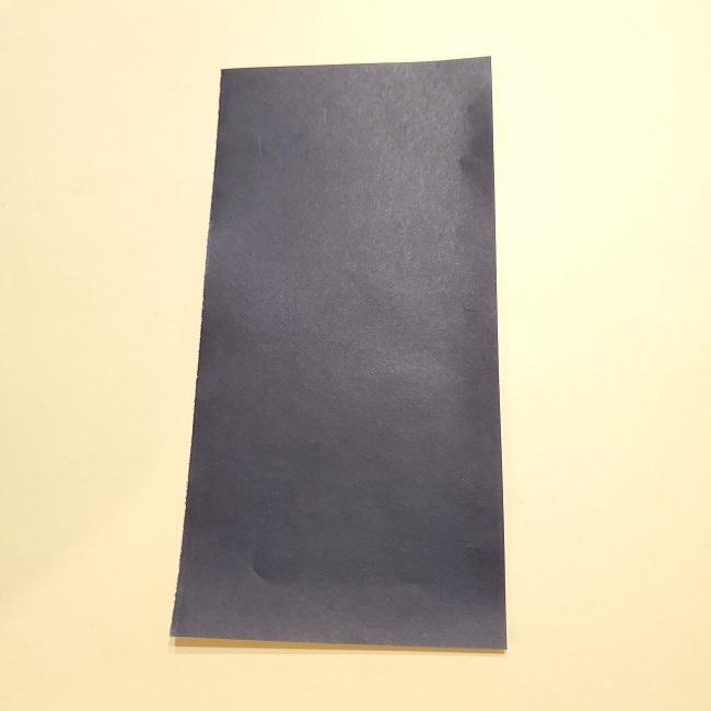 きめつのやいばの折り紙【いぐろおばない(伊黒小芭内)】作り方 (15)