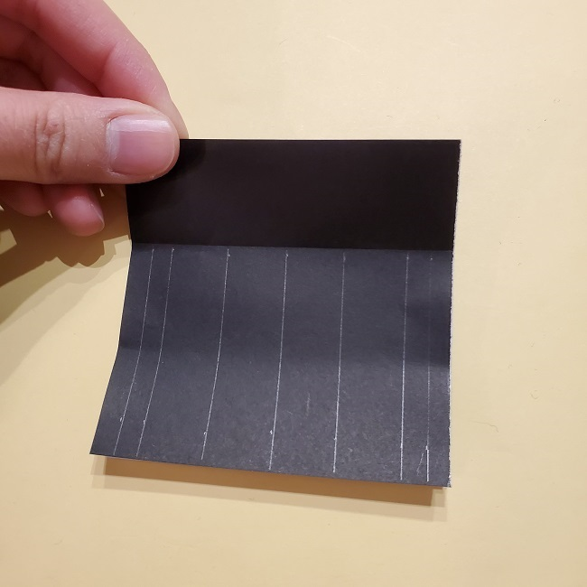 きめつのやいばの折り紙【いぐろおばない(伊黒小芭内)】作り方 (19)
