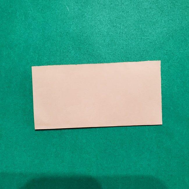 きめつのやいばの折り紙【いぐろおばない(伊黒小芭内)】作り方 (2)