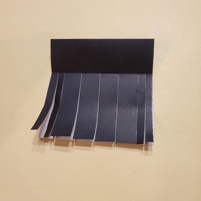 きめつのやいばの折り紙【いぐろおばない(伊黒小芭内)】作り方 (20)