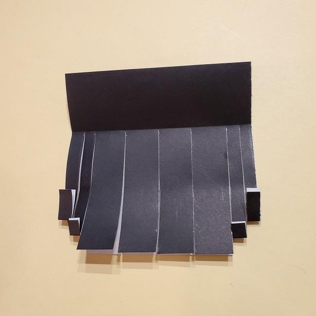 きめつのやいばの折り紙【いぐろおばない(伊黒小芭内)】作り方 (21)