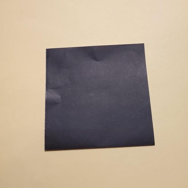 きめつのやいばの折り紙【いぐろおばない(伊黒小芭内)】作り方 (26)
