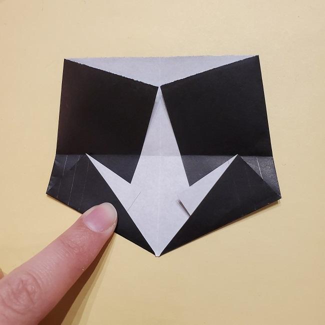 きめつのやいばの折り紙【いぐろおばない(伊黒小芭内)】作り方 (32)