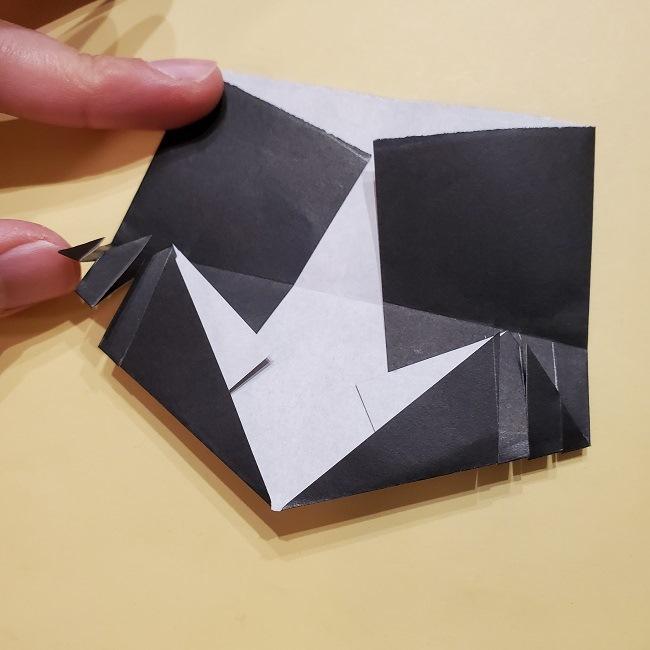 きめつのやいばの折り紙【いぐろおばない(伊黒小芭内)】作り方 (33)