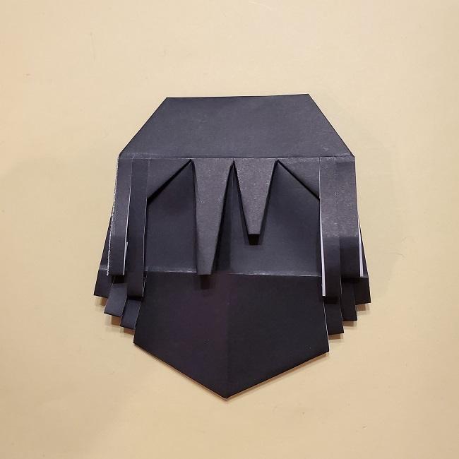 きめつのやいばの折り紙【いぐろおばない(伊黒小芭内)】作り方 (39)