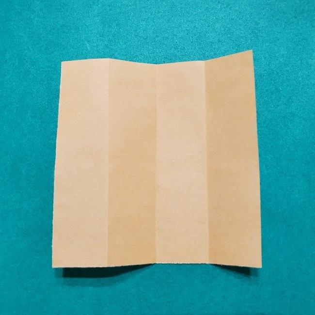 きめつのやいばの折り紙【いぐろおばない(伊黒小芭内)】作り方 (4)
