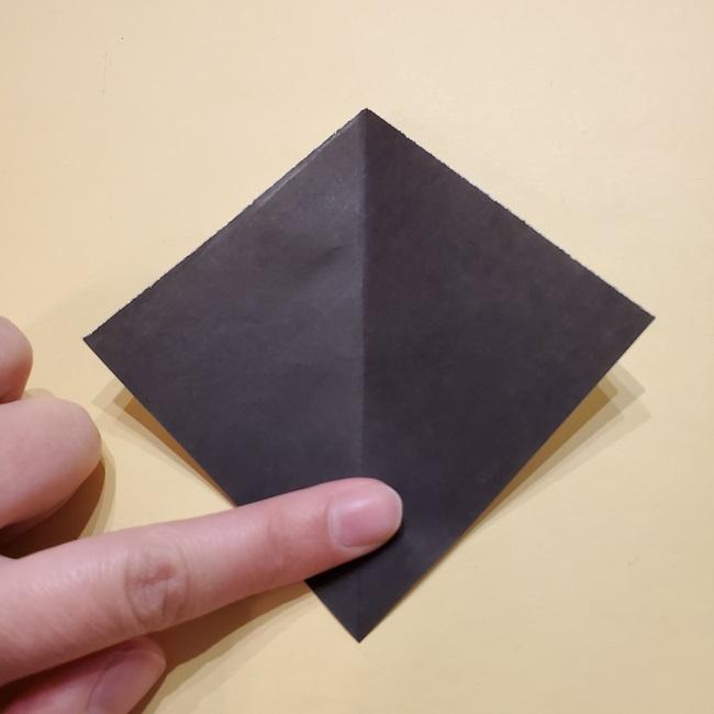 きめつのやいばの折り紙【いぐろおばない(伊黒小芭内)】作り方 (44)