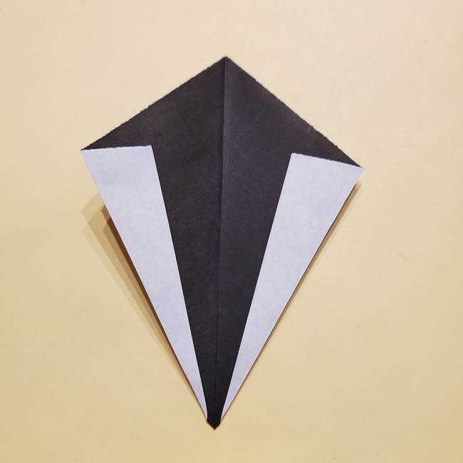 きめつのやいばの折り紙【いぐろおばない(伊黒小芭内)】作り方 (45)