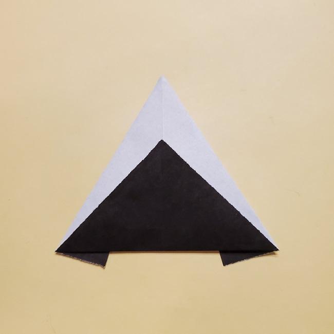 きめつのやいばの折り紙【いぐろおばない(伊黒小芭内)】作り方 (47)