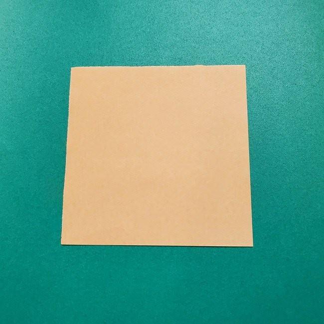 きめつのやいばの折り紙 みつりの折り方 (1)