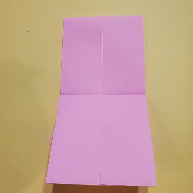 きめつのやいばの折り紙 みつりの折り方 (11)