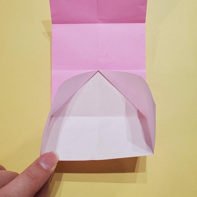 きめつのやいばの折り紙 みつりの折り方 (14)