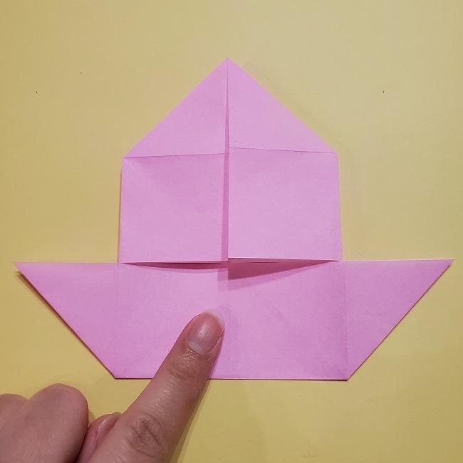 きめつのやいばの折り紙 みつりの折り方 (17)