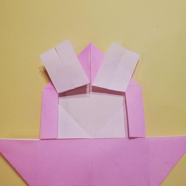 きめつのやいばの折り紙 みつりの折り方 (19)