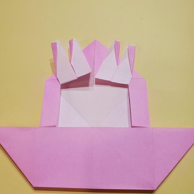 きめつのやいばの折り紙 みつりの折り方 (20)