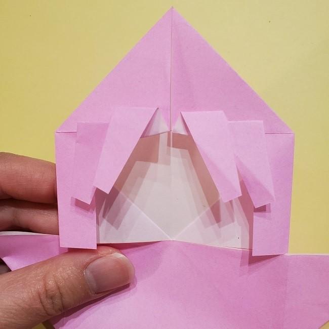 きめつのやいばの折り紙 みつりの折り方 (21)