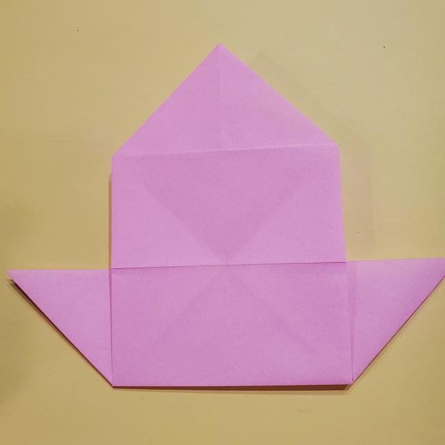 きめつのやいばの折り紙 みつりの折り方 (22)