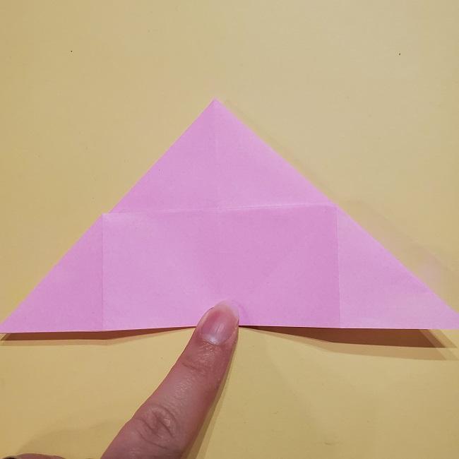 きめつのやいばの折り紙 みつりの折り方 (23)