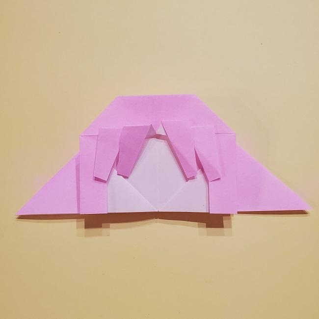 きめつのやいばの折り紙 みつりの折り方 (25)
