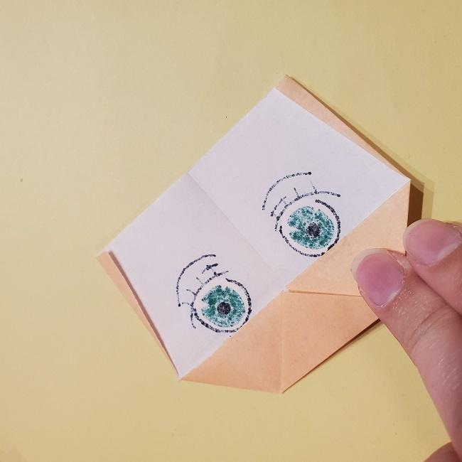 きめつのやいばの折り紙 みつりの折り方 (27)
