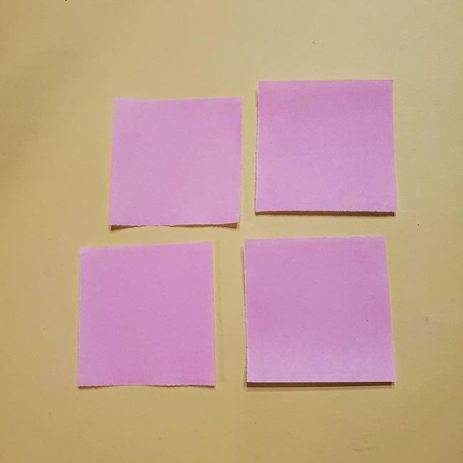 きめつのやいばの折り紙 みつりの折り方 (30)