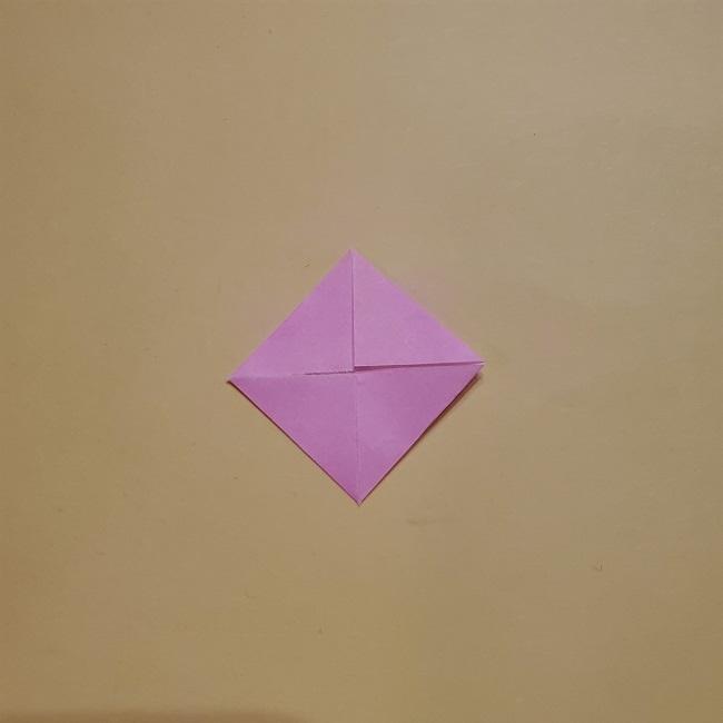 きめつのやいばの折り紙 みつりの折り方 (33)