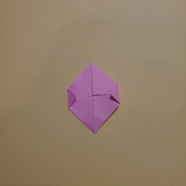 きめつのやいばの折り紙 みつりの折り方 (34)