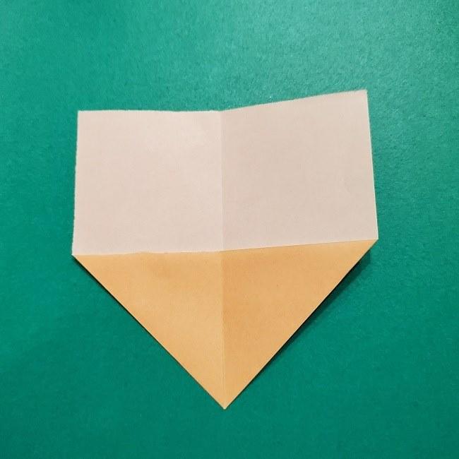 きめつのやいばの折り紙 みつりの折り方 (4)