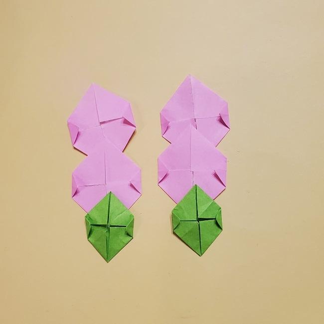 きめつのやいばの折り紙 みつりの折り方 (40)