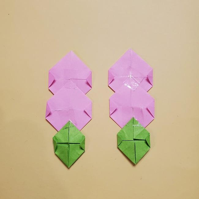 きめつのやいばの折り紙 みつりの折り方 (41)
