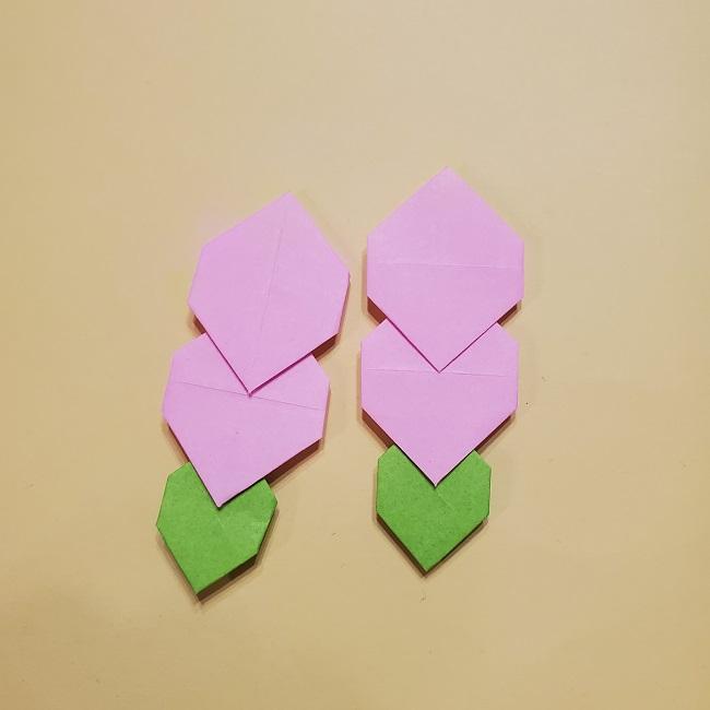 きめつのやいばの折り紙 みつりの折り方 (42)