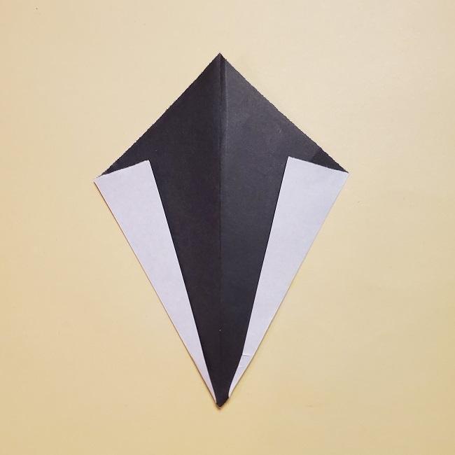 きめつのやいばの折り紙 みつりの折り方 (48)